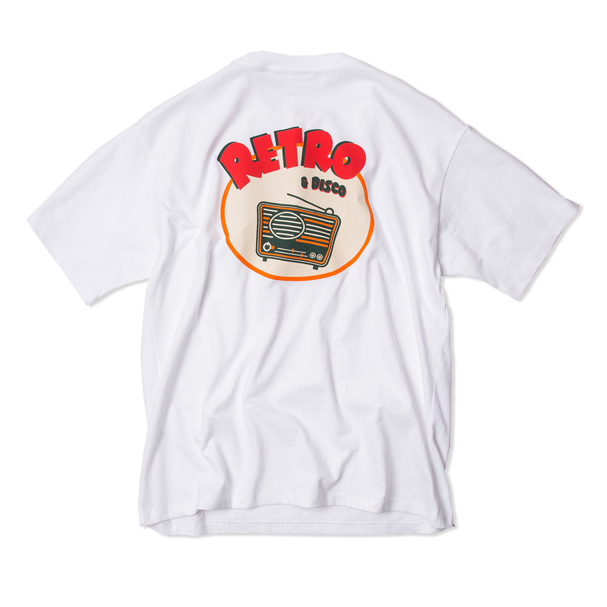 샌드파이퍼 RETRO T SHIRTS_White