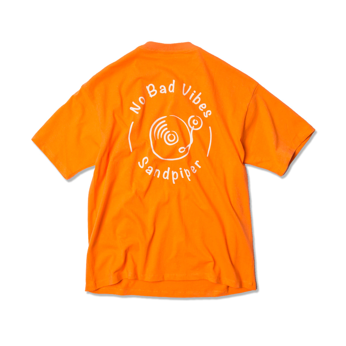 샌드파이퍼 MUSIC LOGO T SHIRTS_Orange