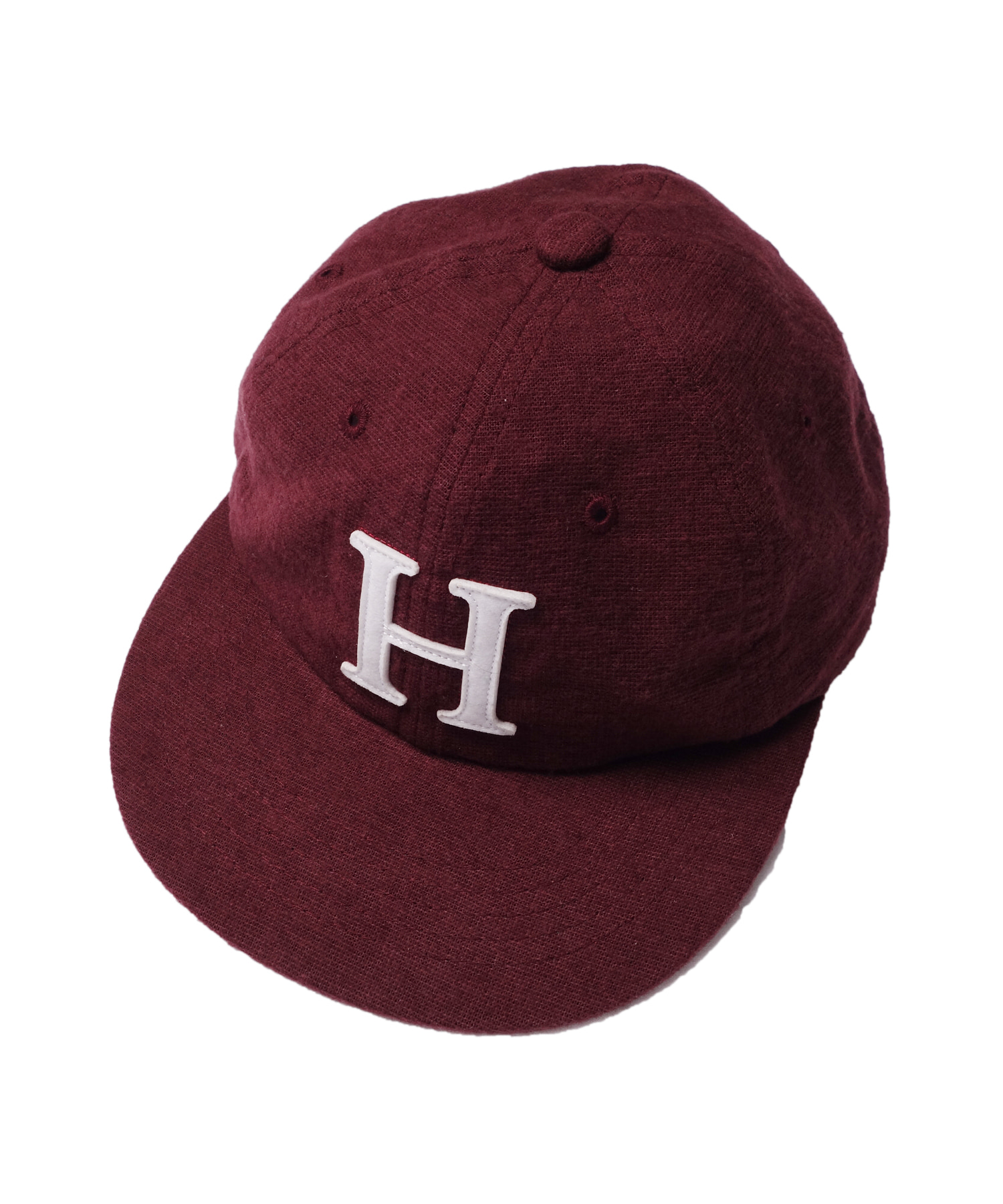 해버대셔리 H 6PANEL BALL CAP_BURGUNDY