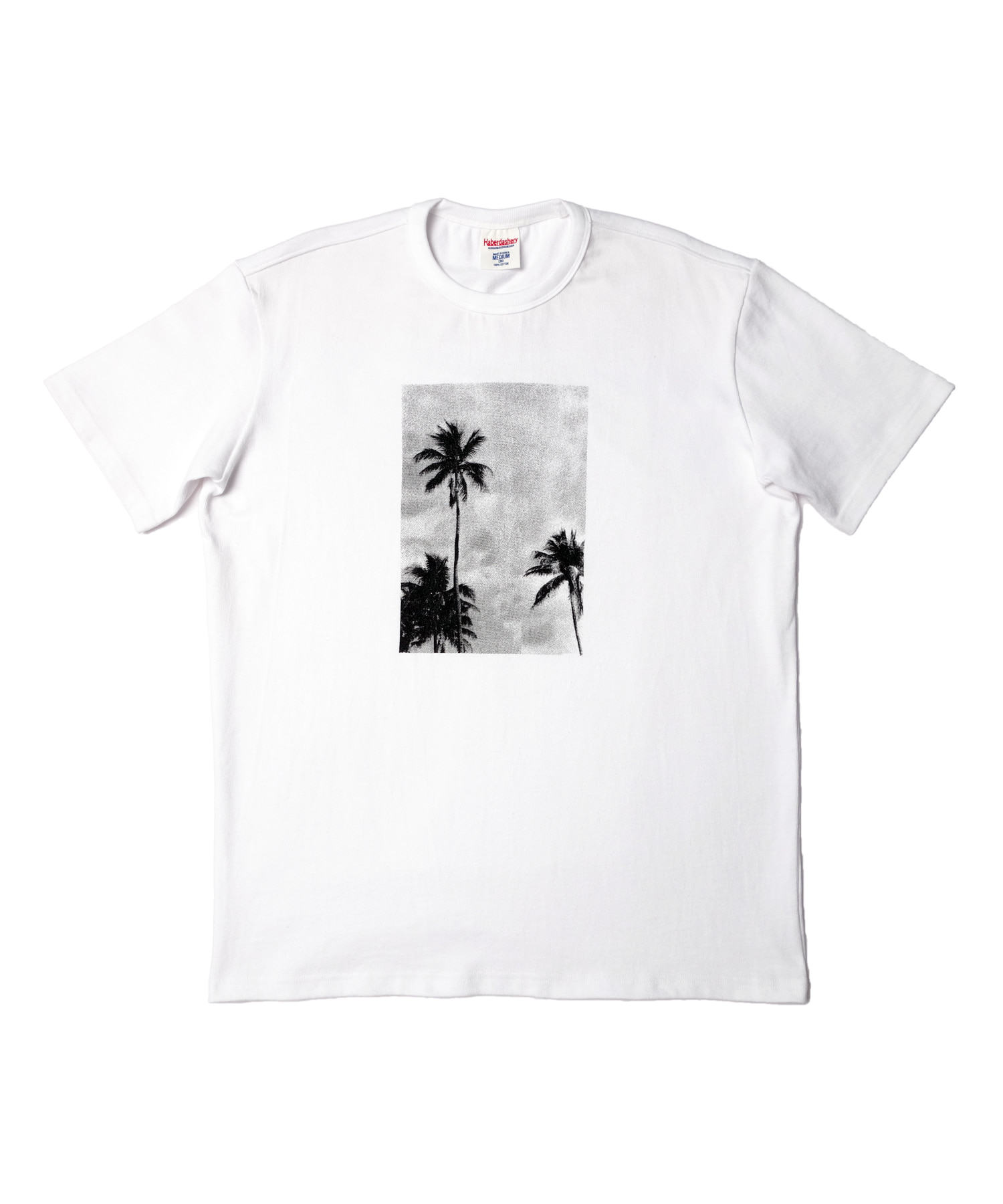 해버대셔리 PALM TREE SHORT SLEEVE_WHITE