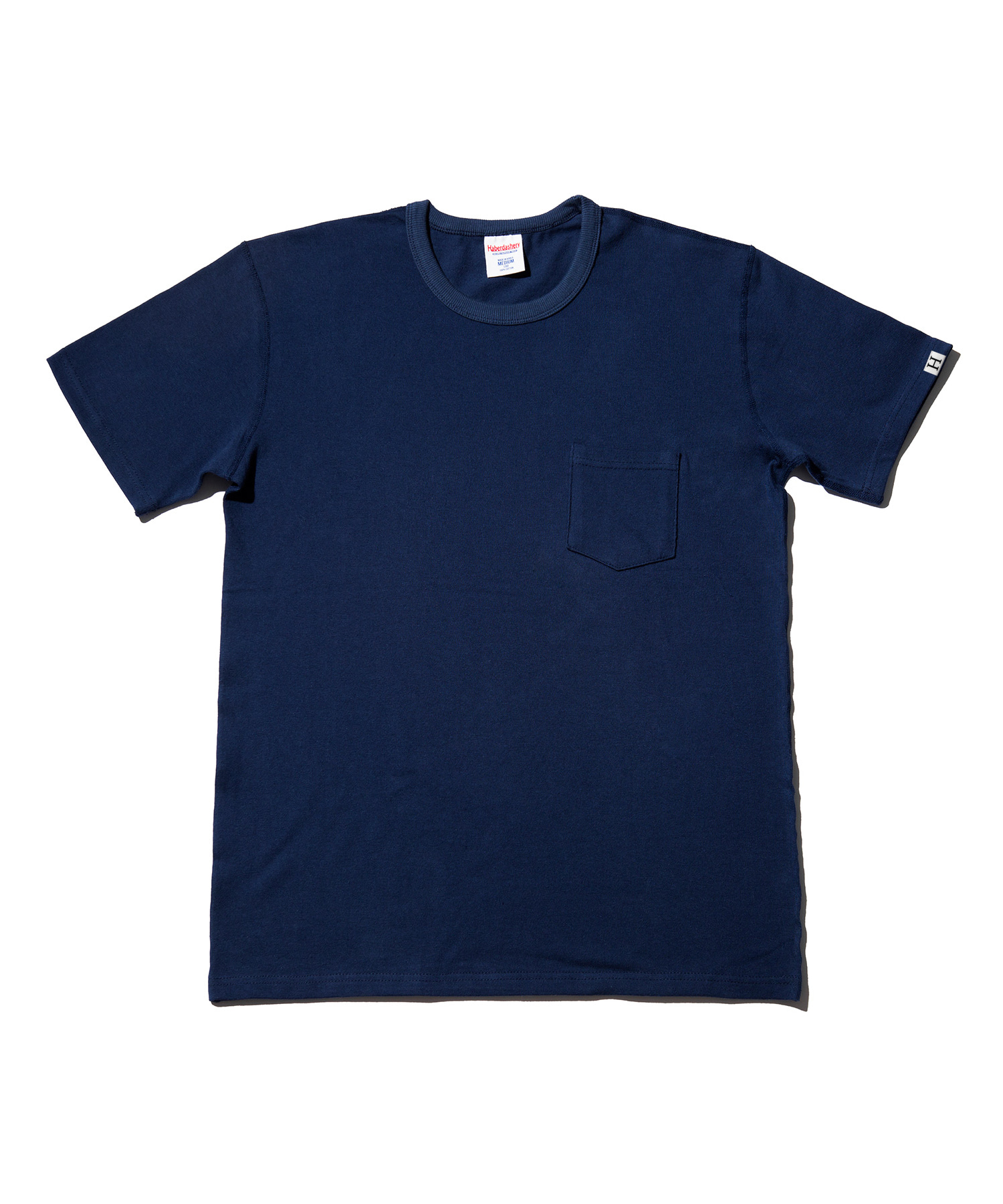 해버대셔리 POCKET CREW NECK SHORT SLEEVE_NAVY