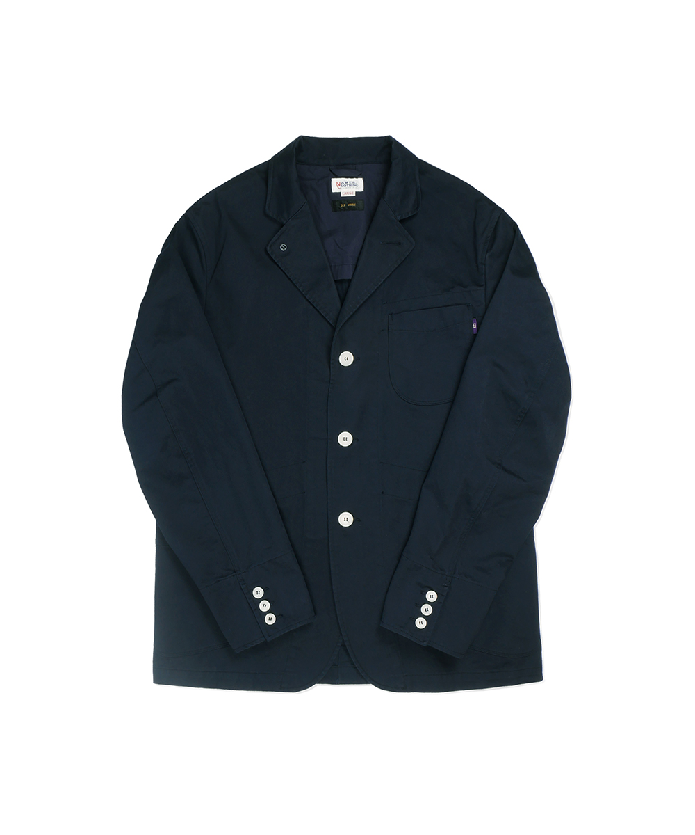 네이머클로딩_SET-UP SPORTS JACKET_navy
