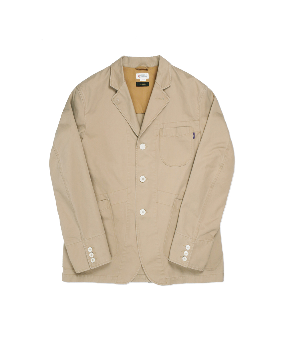 네이머클로딩_SET-UP SPORTS JACKET WASHED VER_beige