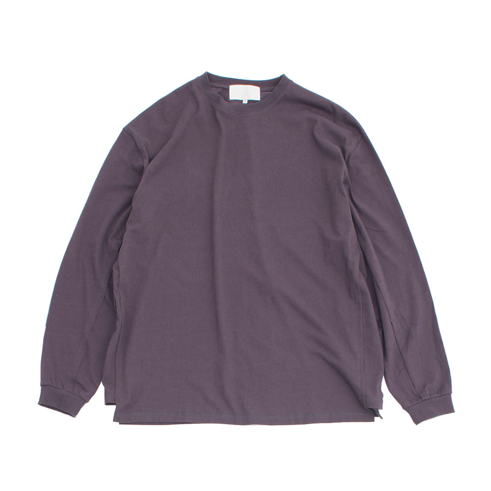 가쿠로 'Oversized' L/S T-Shirts_Purple