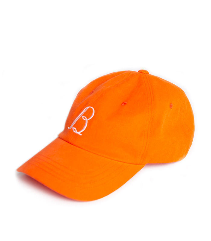 브라운야드 Vintage Baseball Cap_Orange