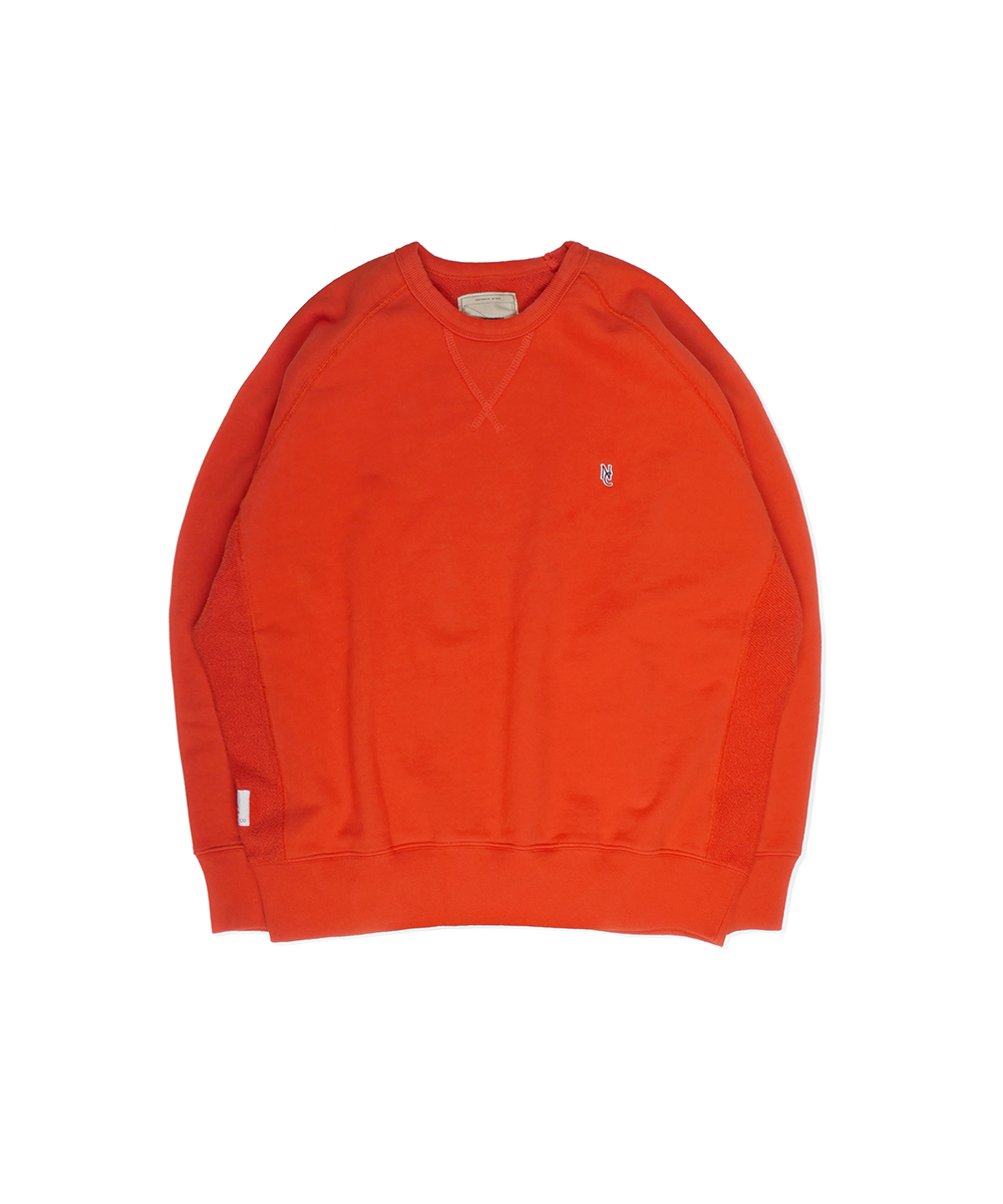 네이머클로딩 STANDARD NC SWEAT SHIRT_Orange