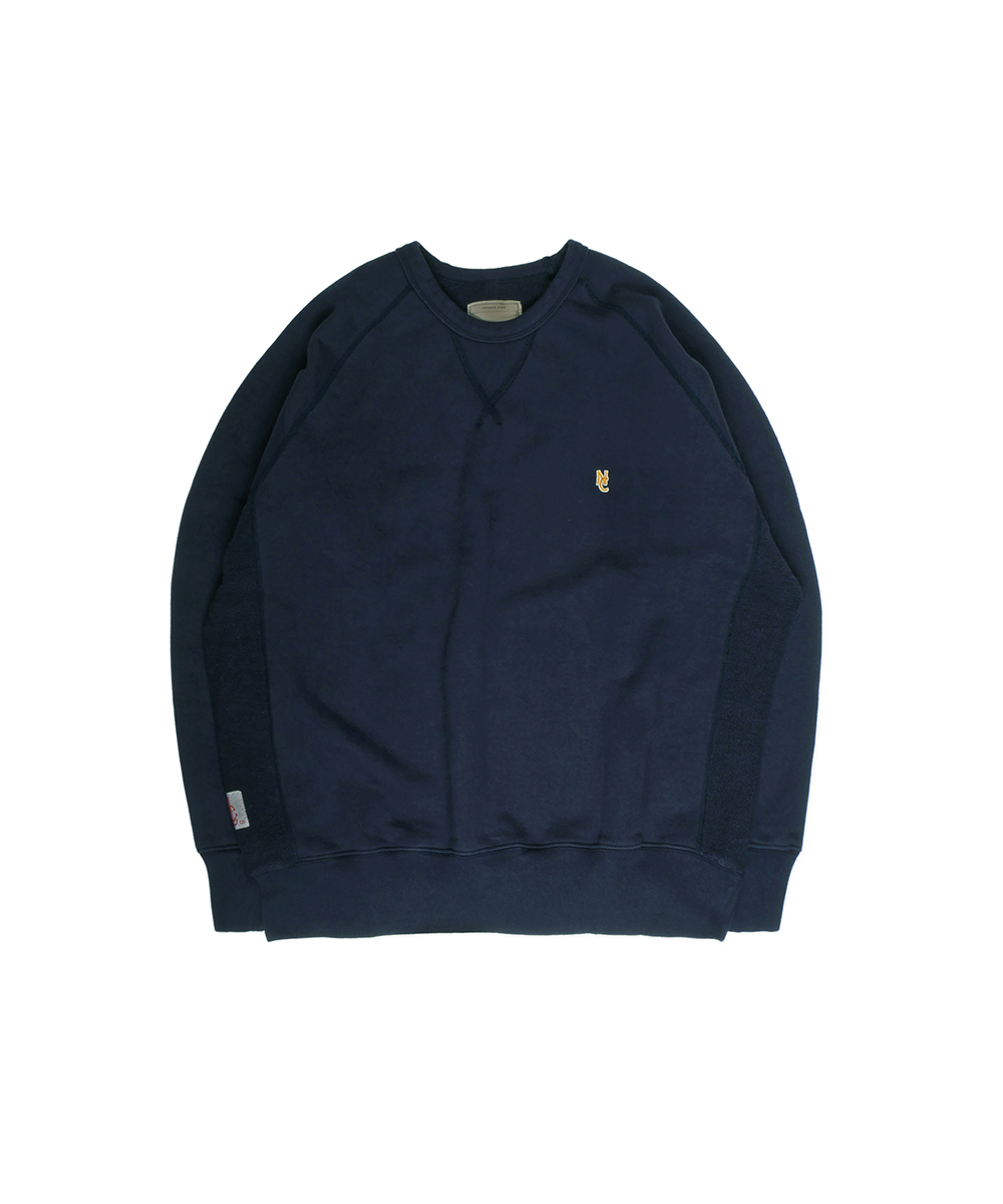 네이머클로딩 STANDARD NC SWEAT SHIRT_Navy