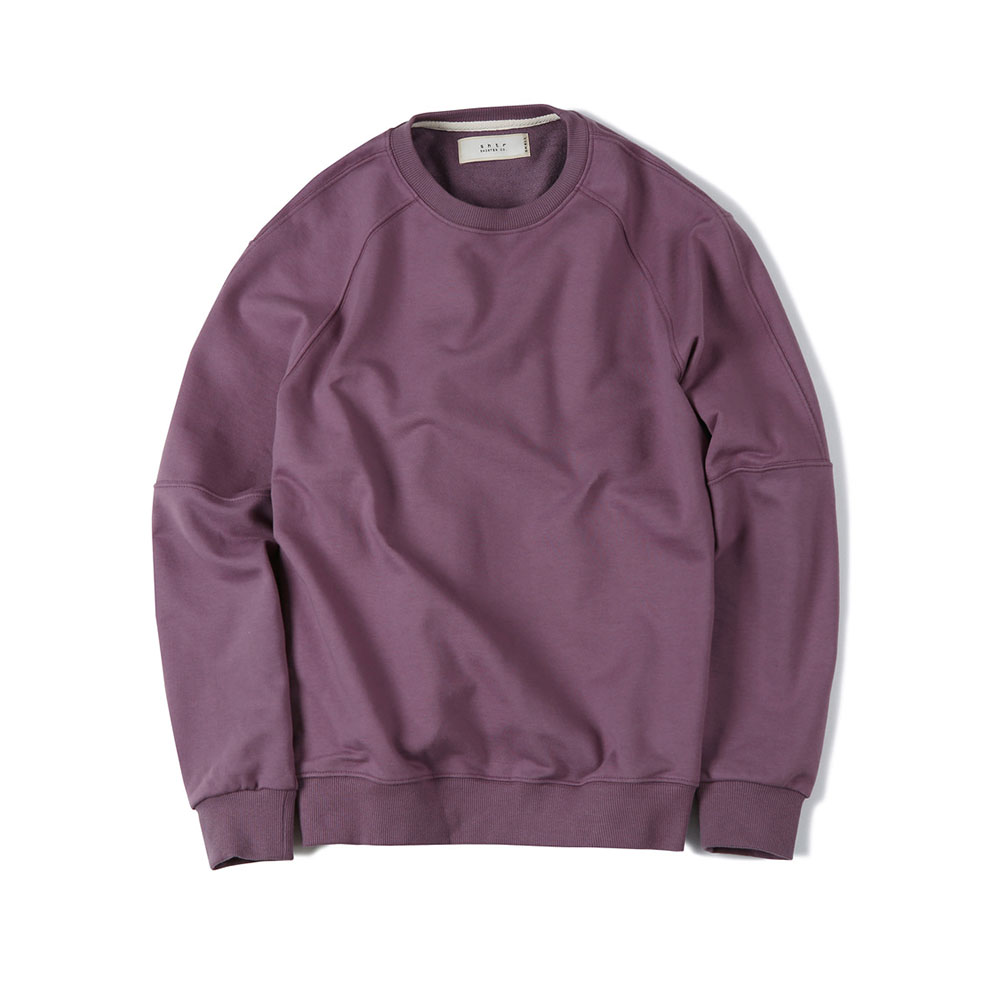 셔터 OVERSIZE CREW-NECK SWEAT SHIRT_Purple