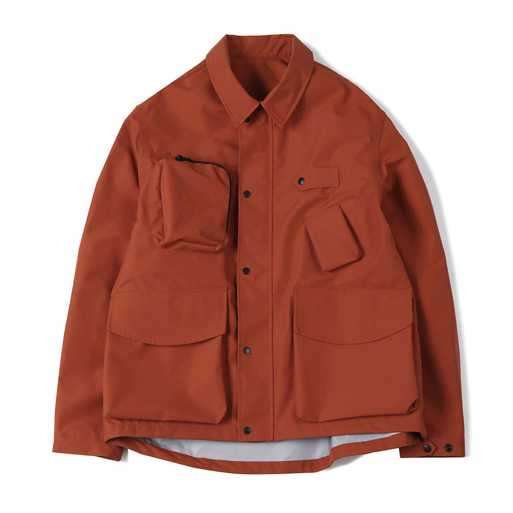 셔터 3LAYER TOOL JACKET_Orange