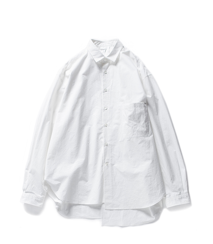 브라운야드 Unbalance Shirts_White