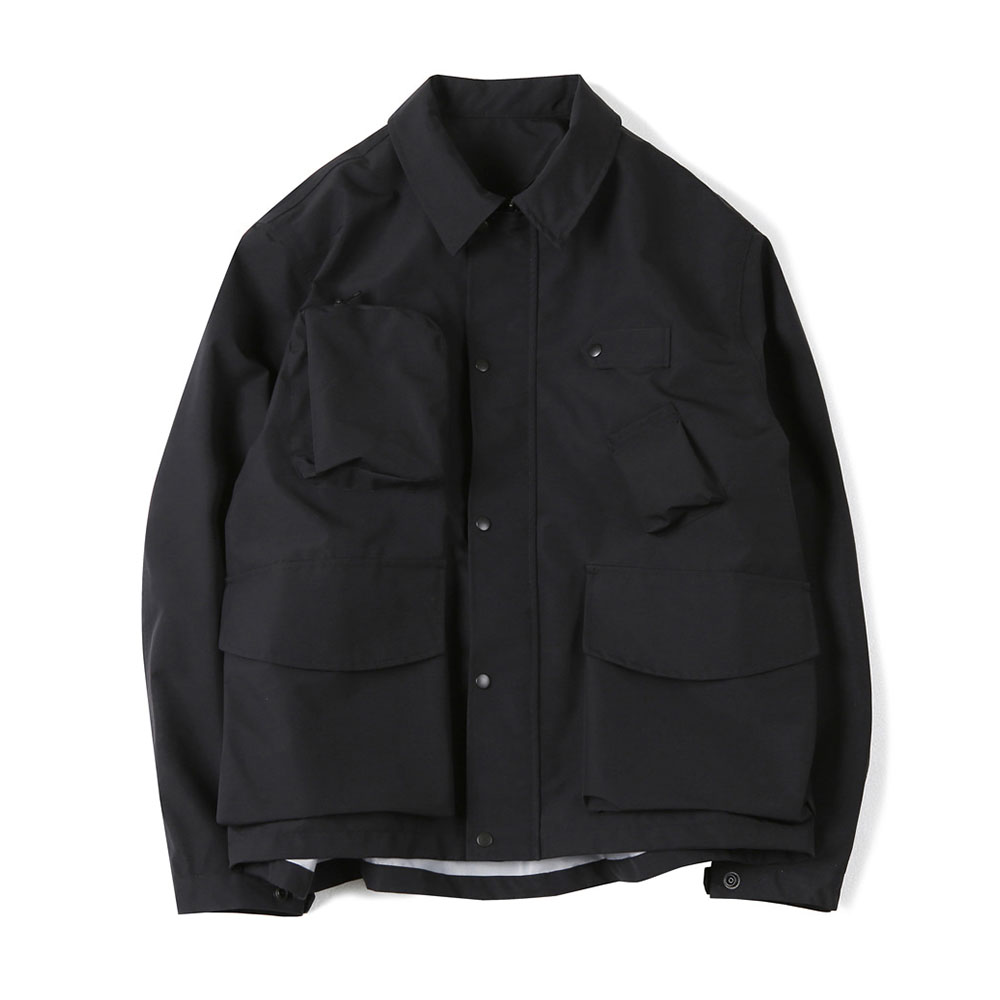 셔터 3LAYER TOOL JACKET_Black