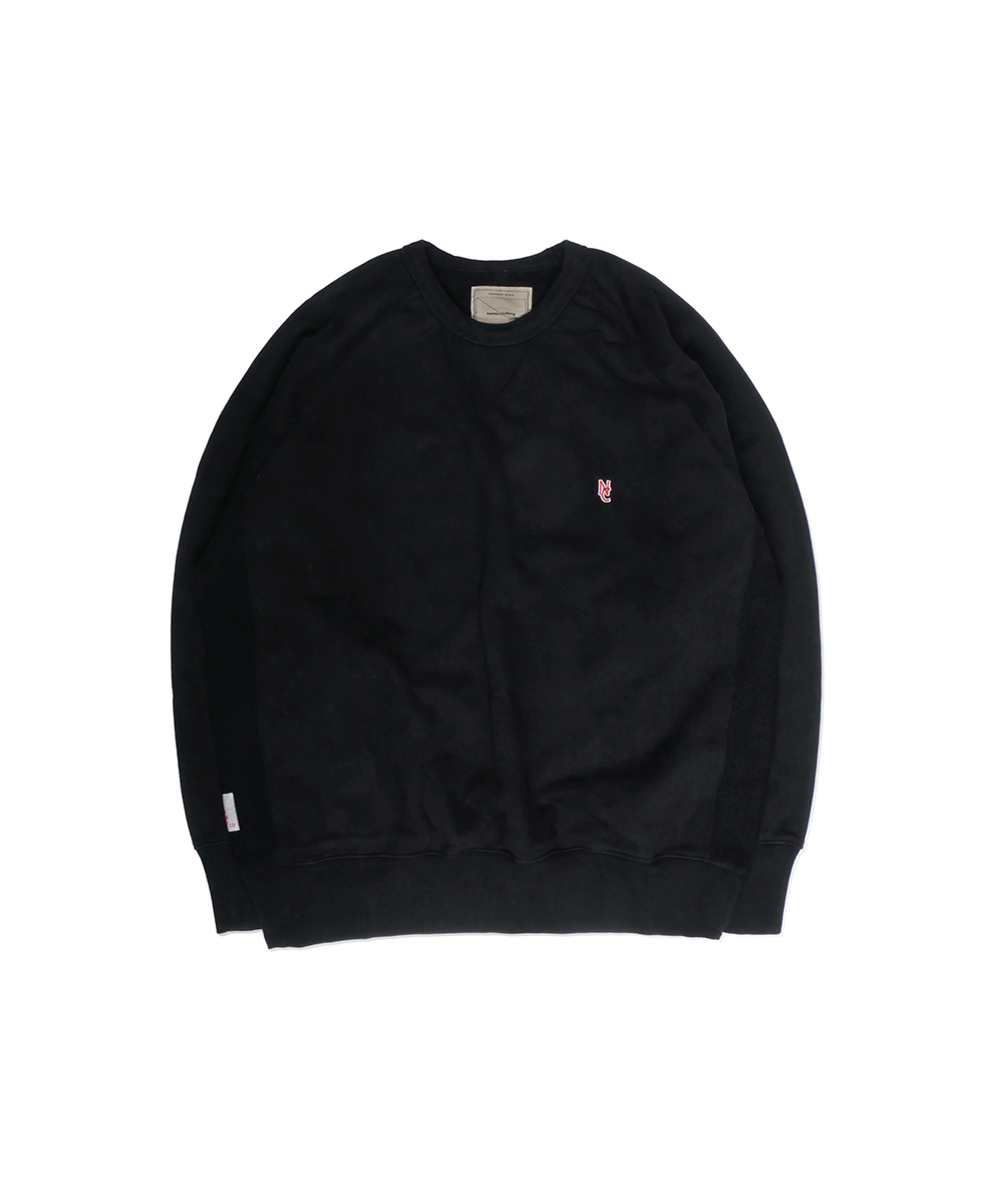 네이머클로딩 STANDARD NC SWEAT SHIRT_Black