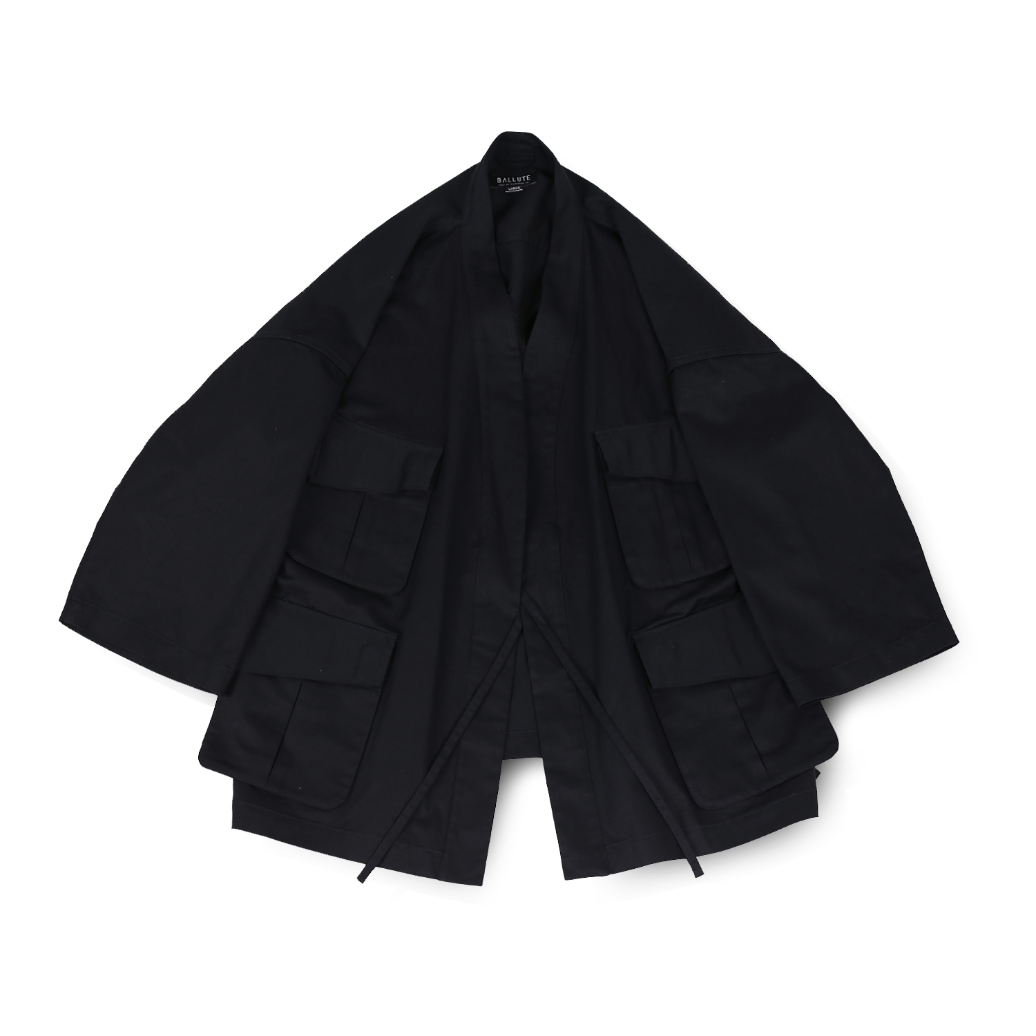 발루트 B.D.U ROBE JACKET_Black