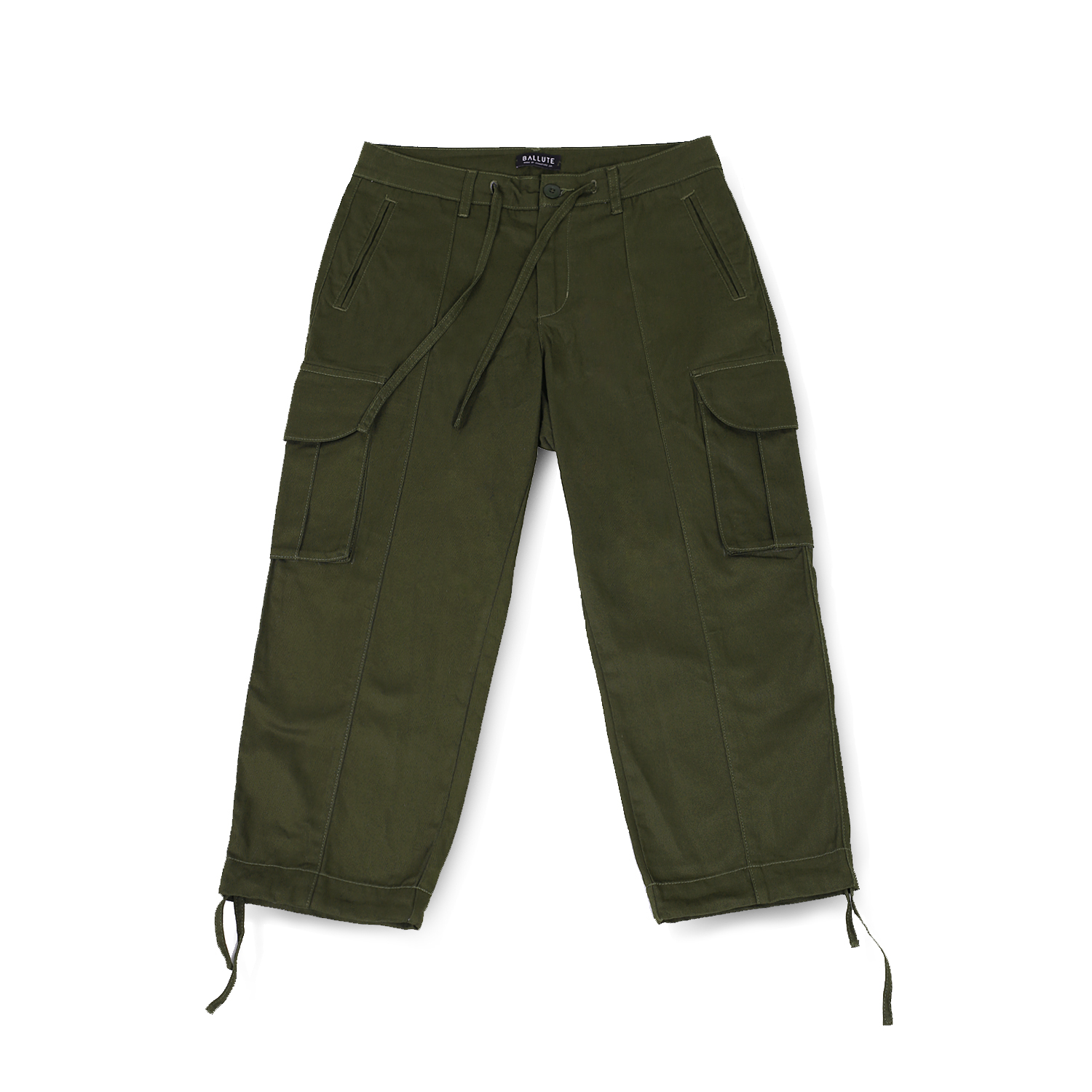 발루트 B.D.U WIDE STRING PANTS_Olive