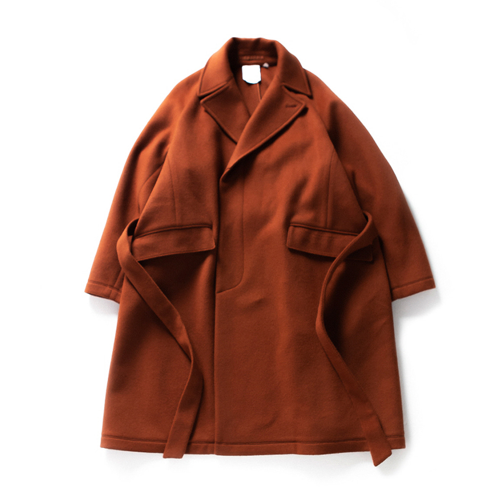 브라운야드 Robe Coat_Brick