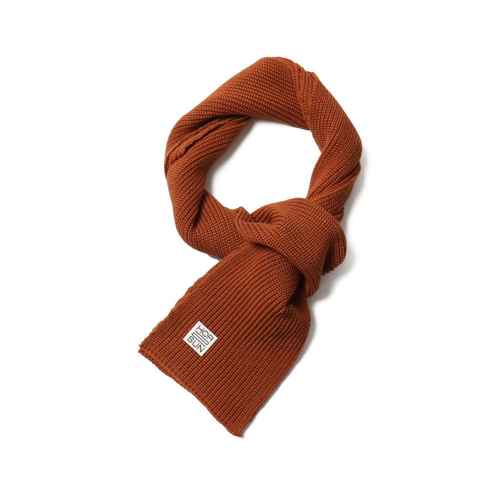 홀리선 Skiff Knit Muffler_Orange
