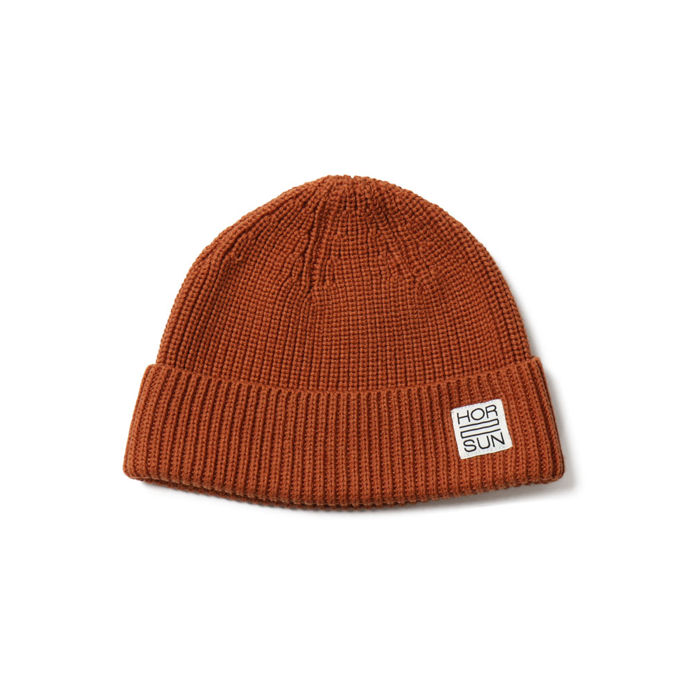 홀리선 Dearborn Knit Beanie_Orange