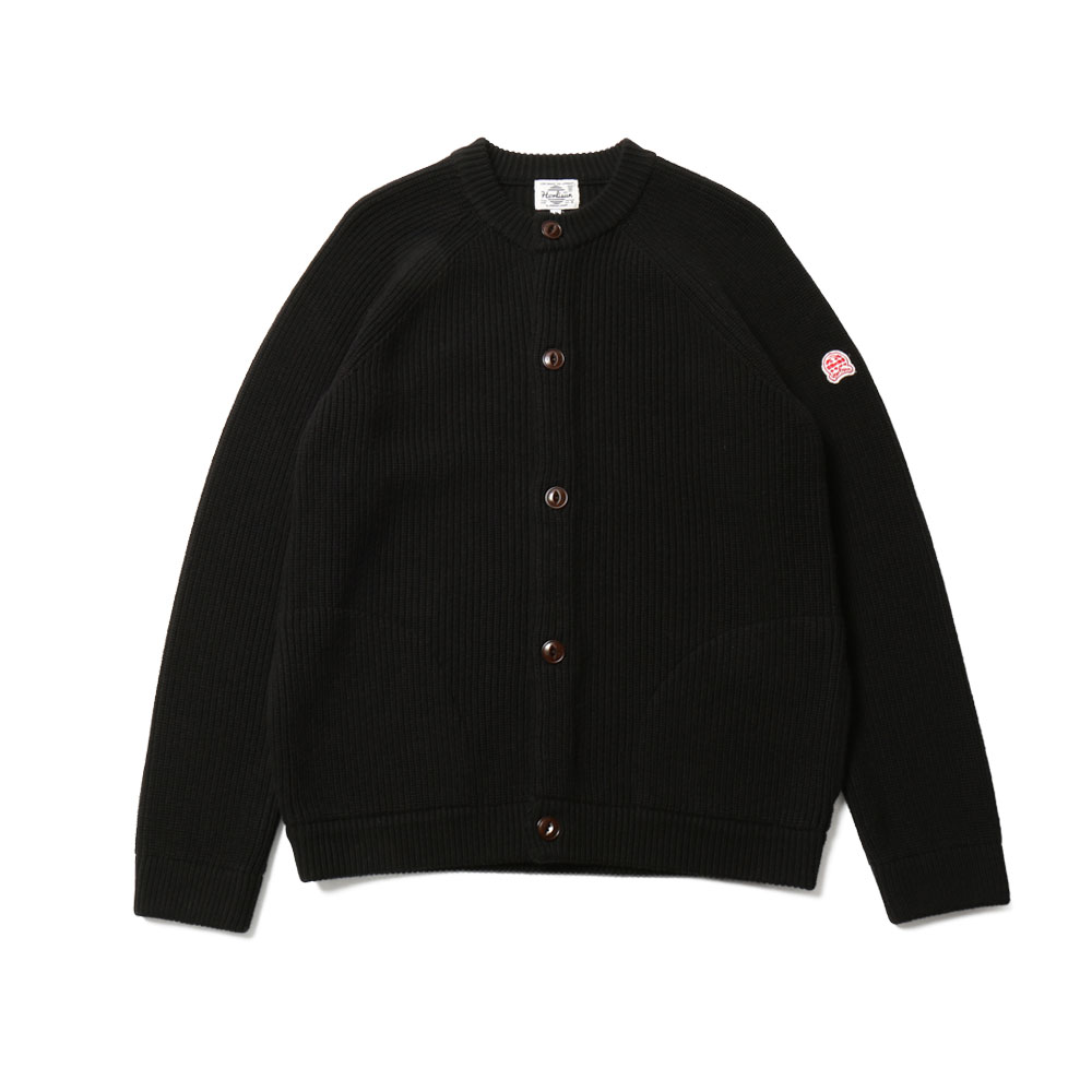 홀리선 Annette Raglan Full Cardigan Knit_Black