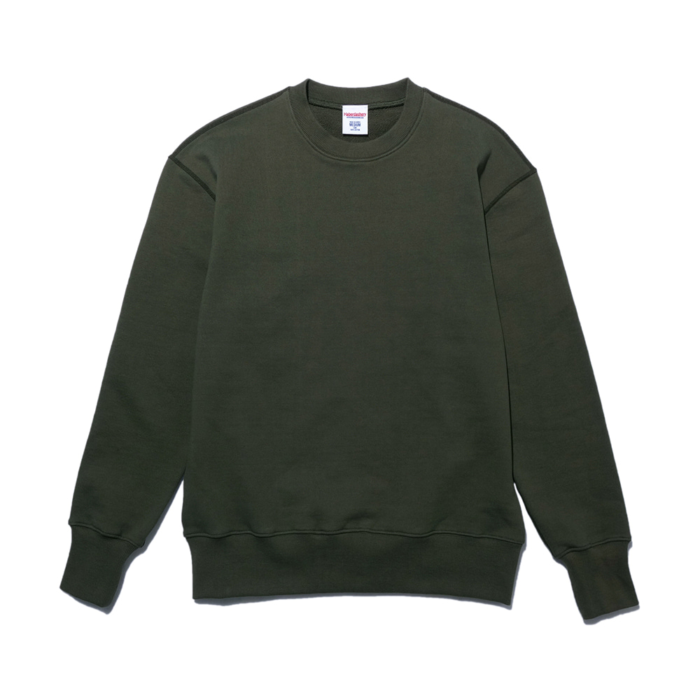 해버대셔리 LIFE IS SHIT SWEAT SHIRT_Khaki