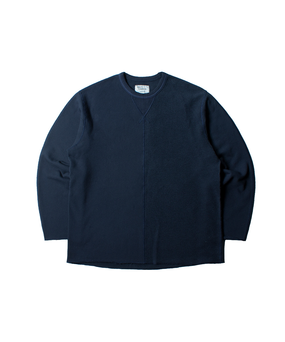 네이머클로딩 2ND HALF CREWNECK_Navy