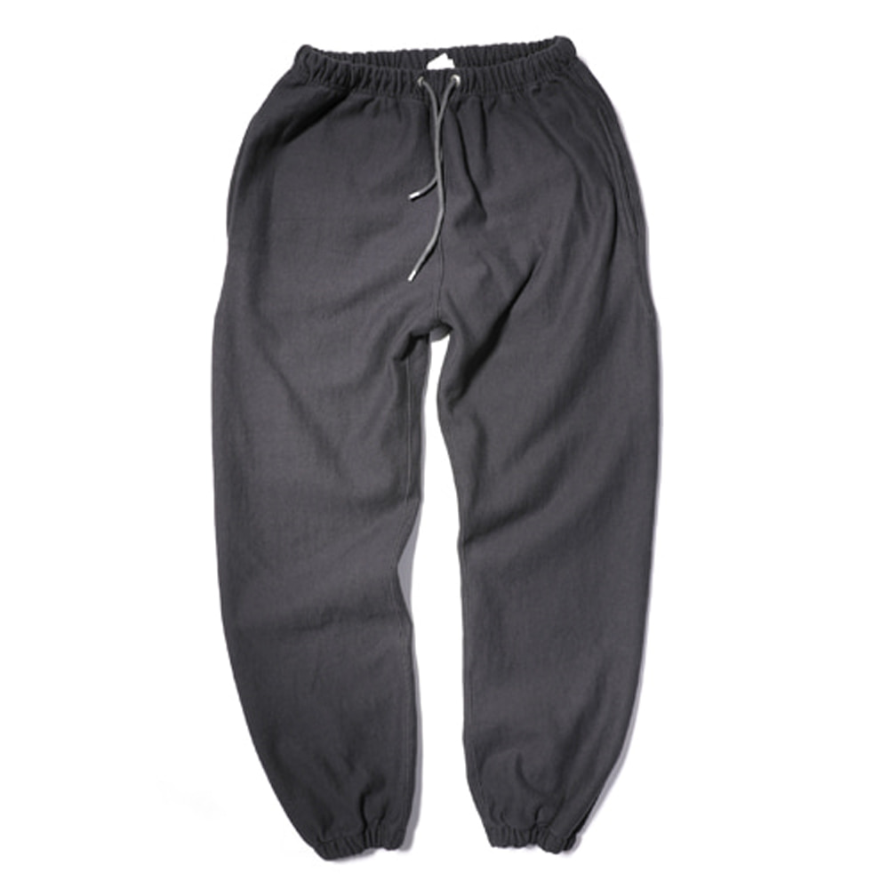 아웃스탠딩 80'S REVERSE SWEAT PANTS_Dark Grey