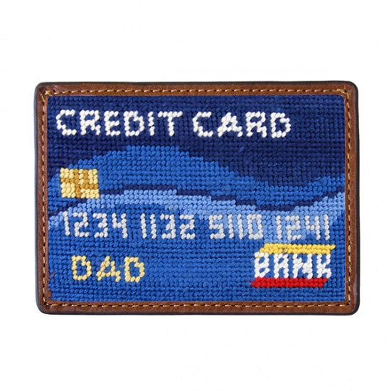 SMATHERS&BRANSON_Dad's Credit Card Needlepoint Card Wallet