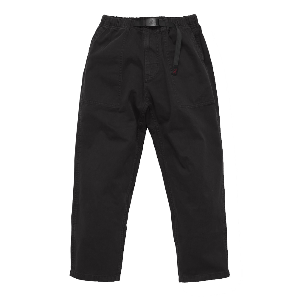 그라미치 LOOSE TAPERED PANTS_Black