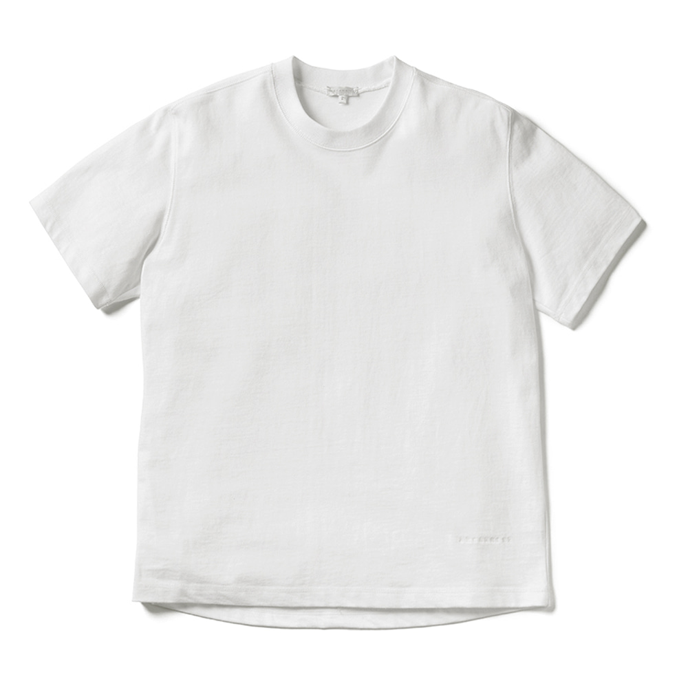 에이카화이트 LOUISE HALF SLEEVE TEE_White