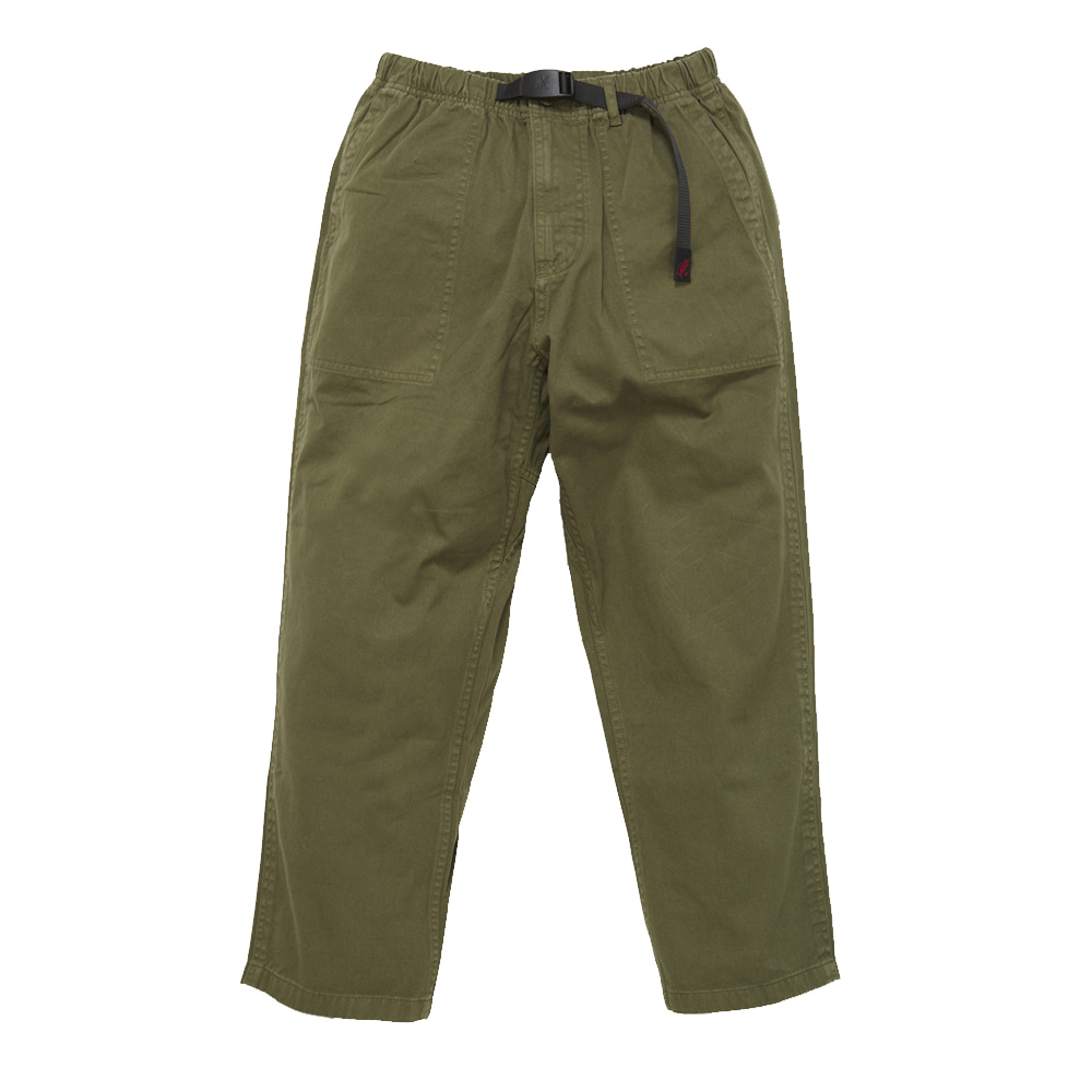 그라미치 LOOSE TAPERED PANTS_Olive