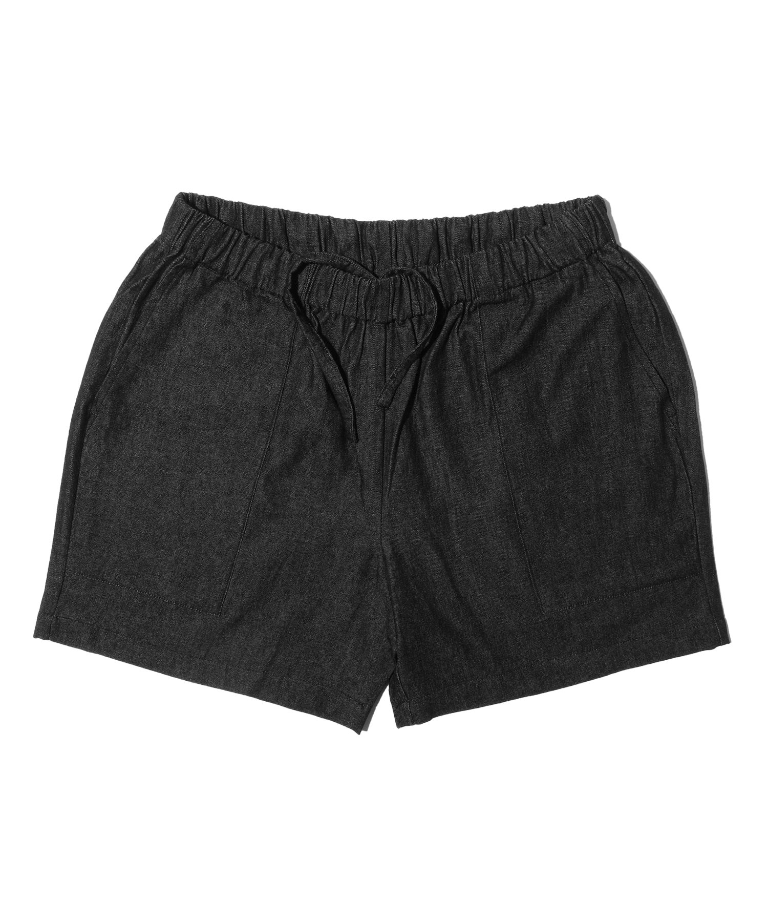 해버대셔리 CHAMBRAY BEACH SHORTS_Black