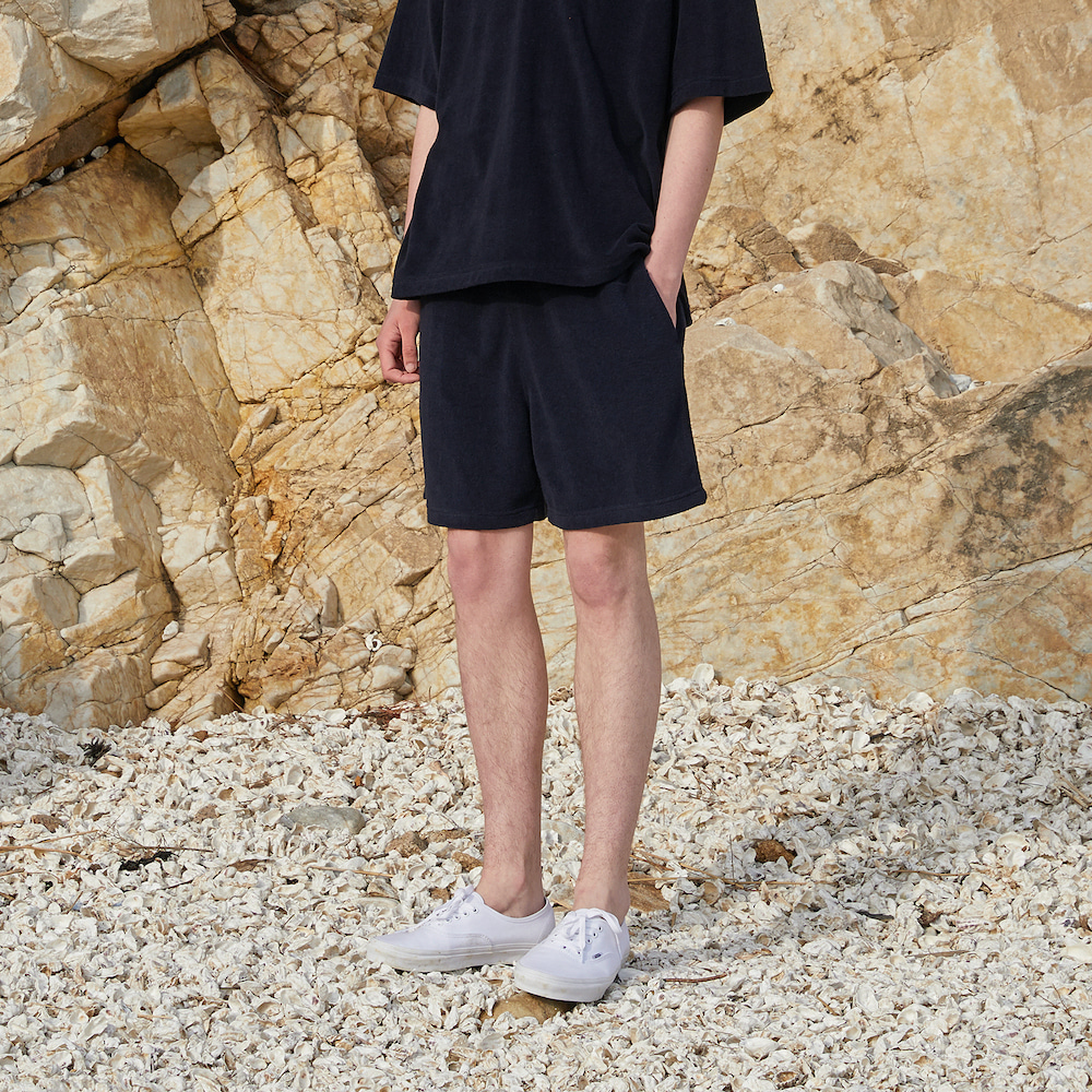 에이카화이트 JACK BEACH SHORTS_Navy