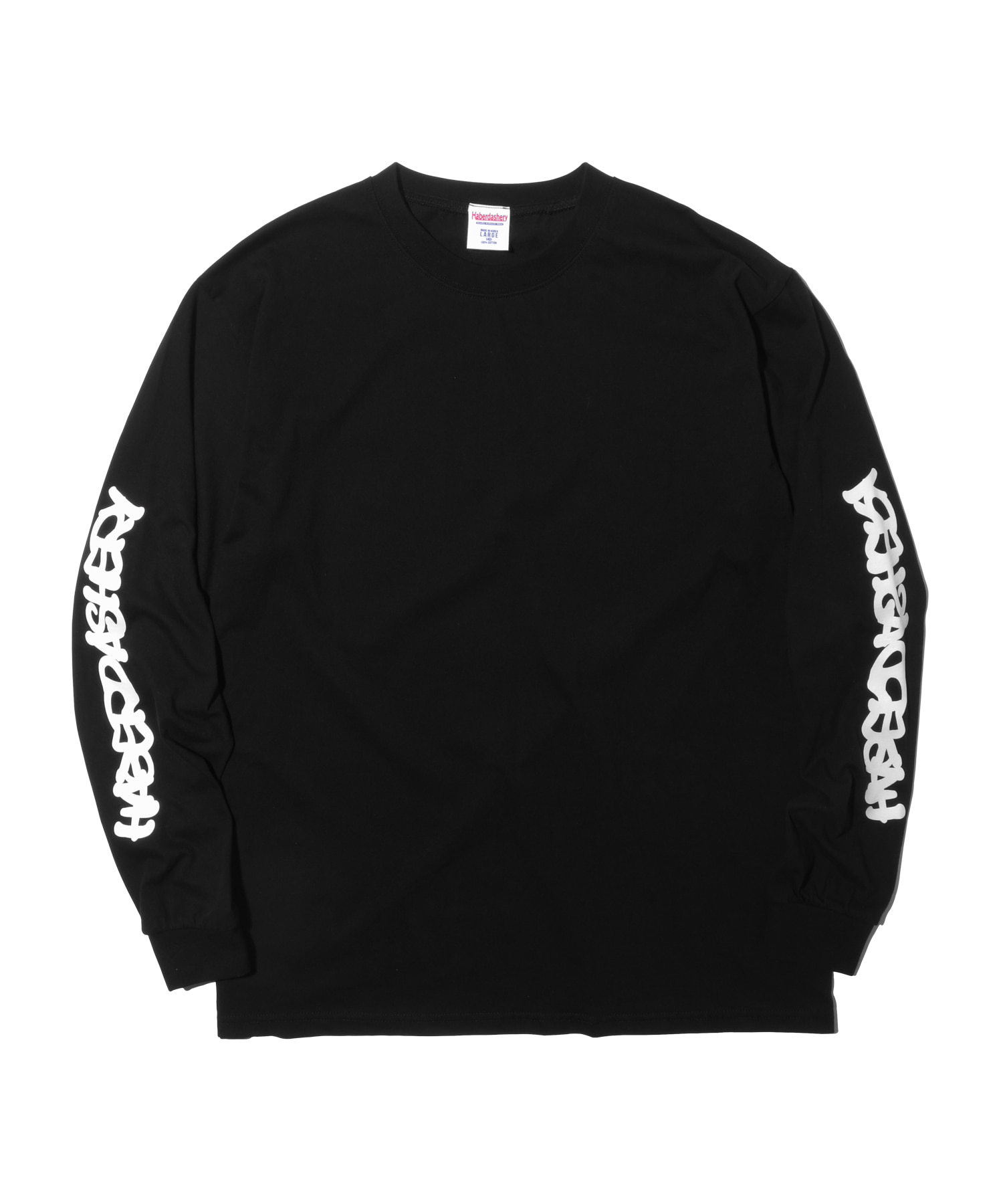 해버대셔리 WAVE LONG SLEEVE_Black