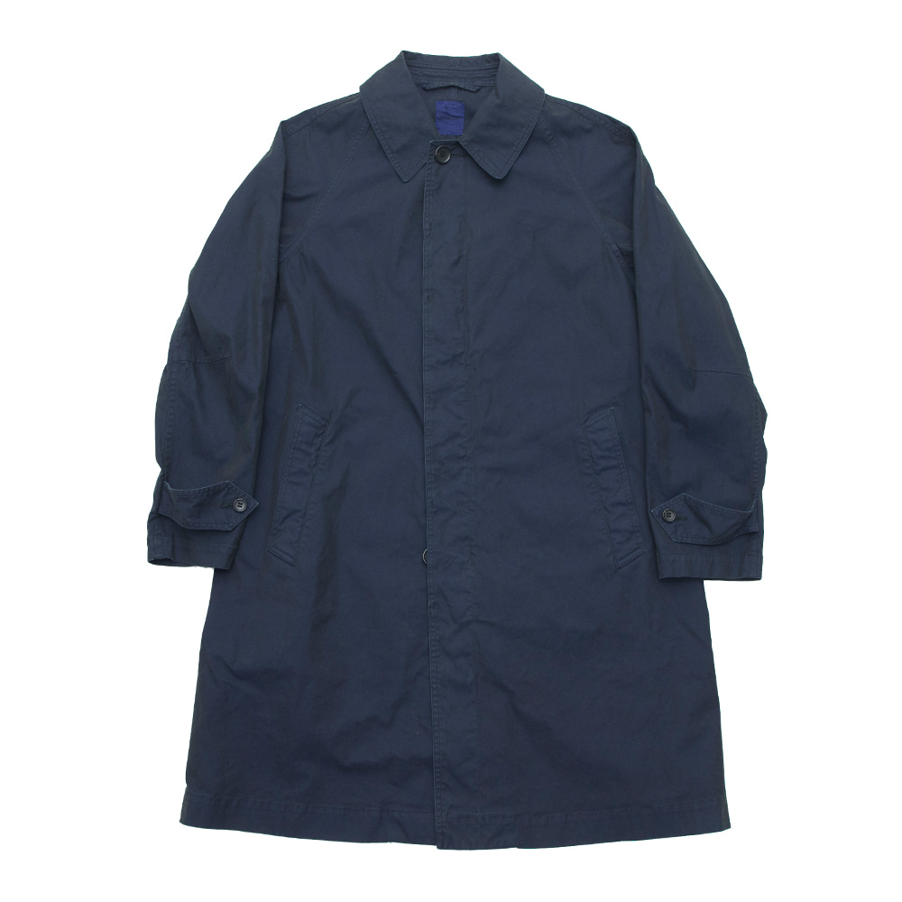SAGE DE CRET Convertible collar coat (Navy)