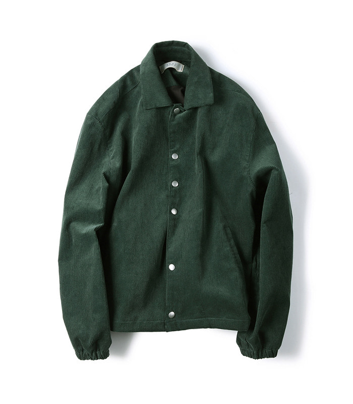 셔터 CORDUROY JACKET (Green)