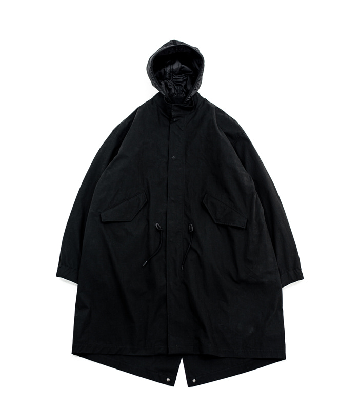 브라운야드 Essential Parka (Black)