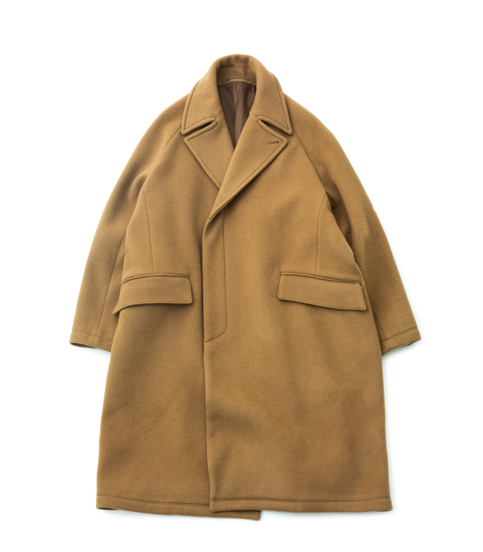 브라운야드 Chesterfield Coat_Camel