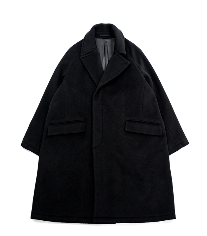 브라운야드 Chesterfield Coat (Black)