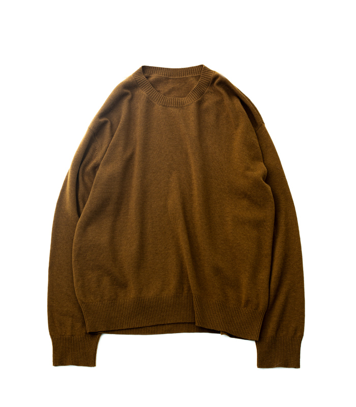 브라운야드 Crewneck Knit (Brown)