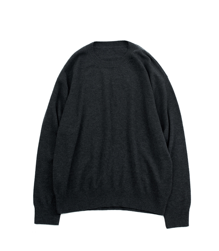 브라운야드 Crewneck Knit (Grey)