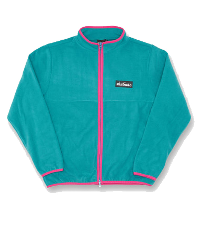 와일드띵스 FLEECE MAGIC JUMPER (Emerald)