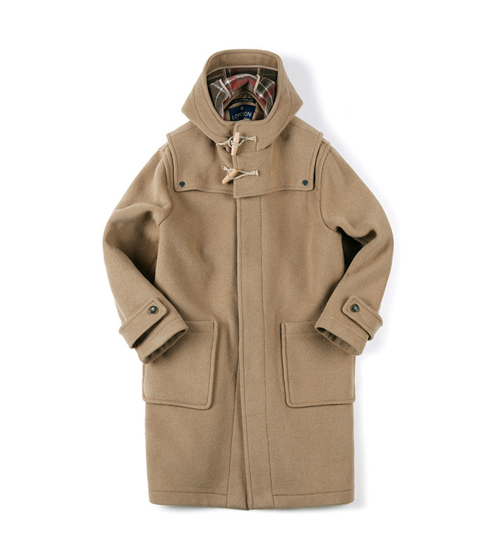 셔터 DETACHABLE DUFFLE COAT [ LONDON TRADITION for SHIRTER ] (Camel)