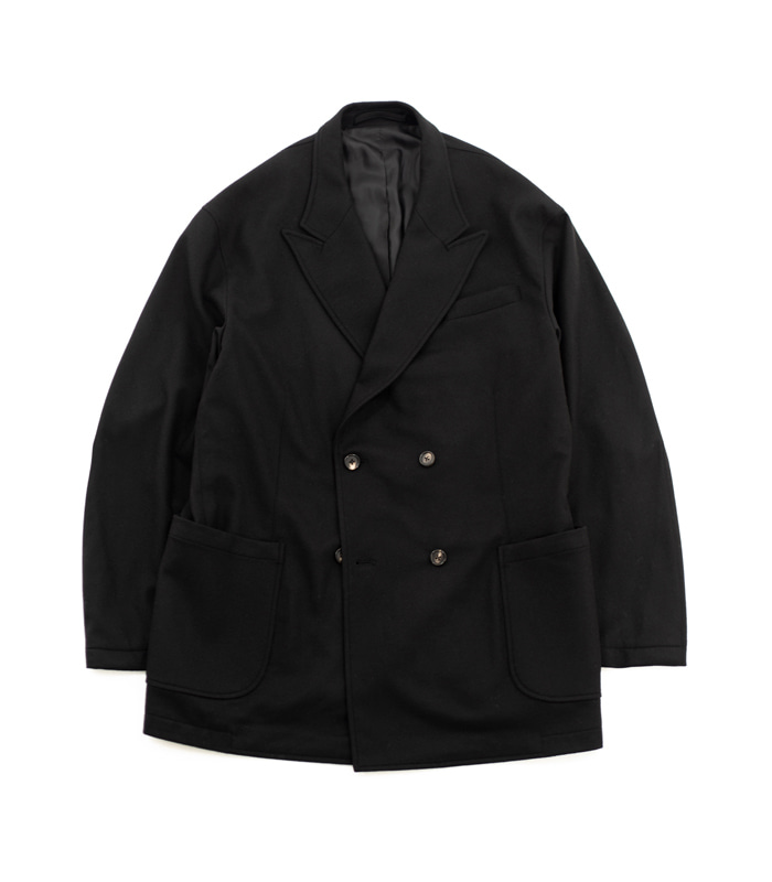 브라운야드 Utility Double Breasted Jacket (Black)